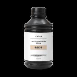 Beige Zahnharz - 500 ml - Zortrax