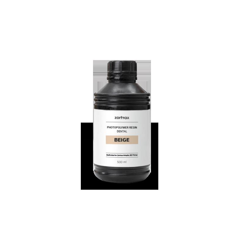 Beige Dental Resin - 500ml - Zortrax