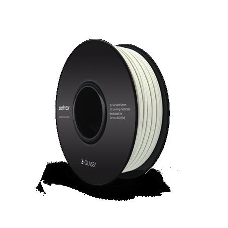 Filamento Zortrax Z-GLASS - 1,75 mm - 800 g - Transparente