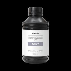 Gray Resin - Zortrax Basic - 500 ml - Inkspire