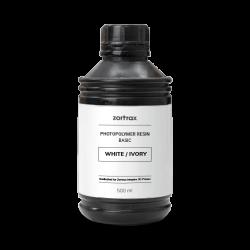 Weißes Harz - Zortrax Basic - 500 ml - Inkspire