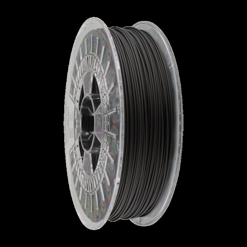 PLA sort - 1,75 mm glødetråd - 750 g