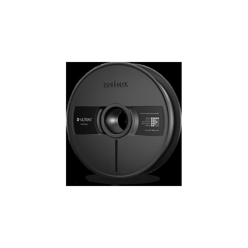 Filamento Zortrax Z-ULTRAT - 1,75 mm - 800 g - Gris oscuro