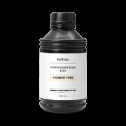 Resina Senza Pigmento – Zortrax Basic – 500 ml – Inkspire