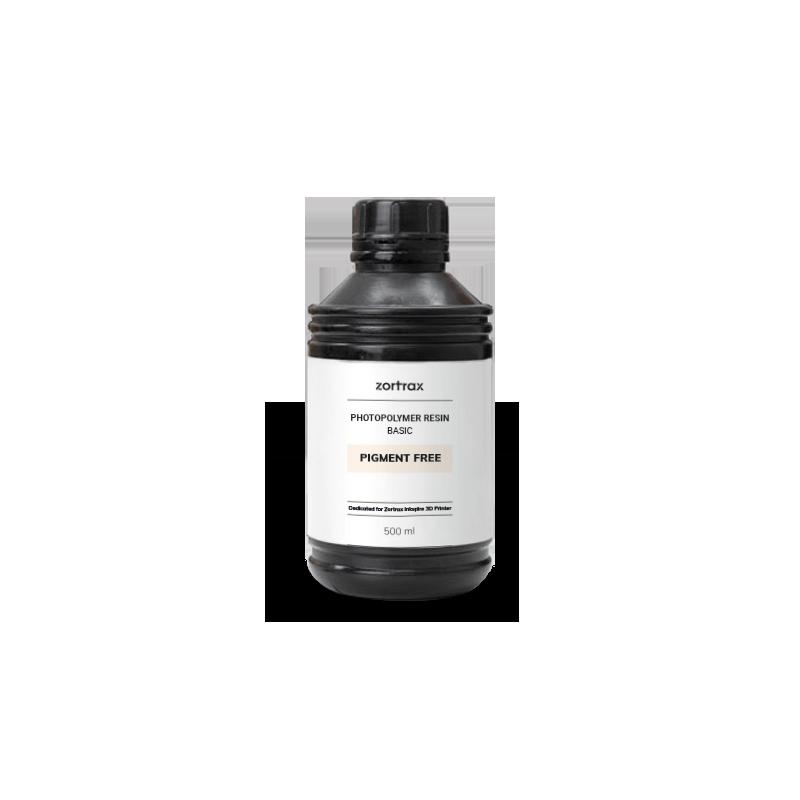 Résine sans pigment - Zortrax Basic - 500 ml - Inkspire
