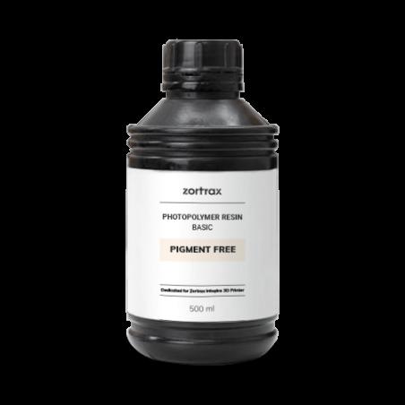Pigment-free resin - Zortrax Basic - 500 ml - Inkspire